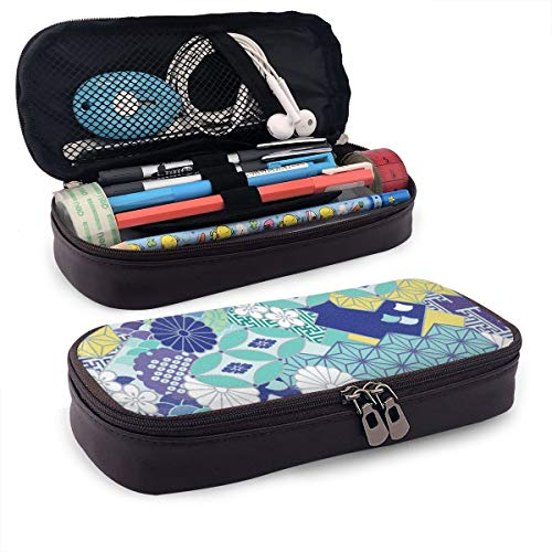 Beautiful Flowers Japanese Pattern Storage Pouch Purse Organizer Cosmetic Bag Travel Pouches