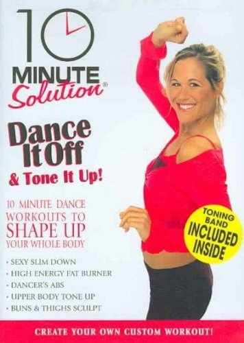 10 MIN SOLUTION:DANCE IT OFF & TONE I - DVD Movie
