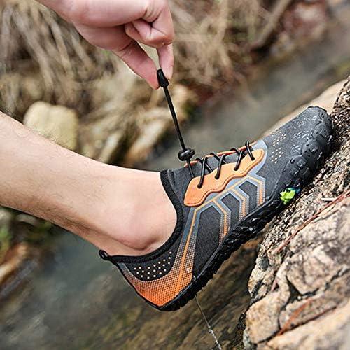 屋外漂流潮汐水泳男性と女性速乾性のある柔らかい靴靴裸足遊び水ビーチソックスアンチカッティング(オレンジ) ポータブル (色 : Orange, Size : US10.5)