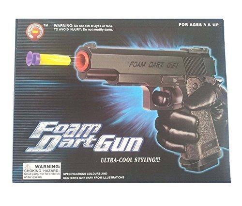 Foam Dart Gun Toy with 6 Foam Darts