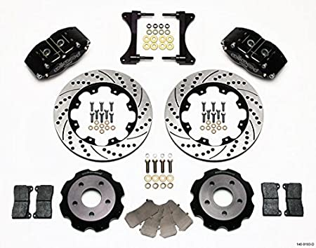 Amazon Com New Wilwood Front Disc Brake Kit 12 Rotors Black 4
