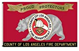 Fyon County of Municipal organizations Banner The Los Angeles County Fire Department Flag 6x10ft Review
