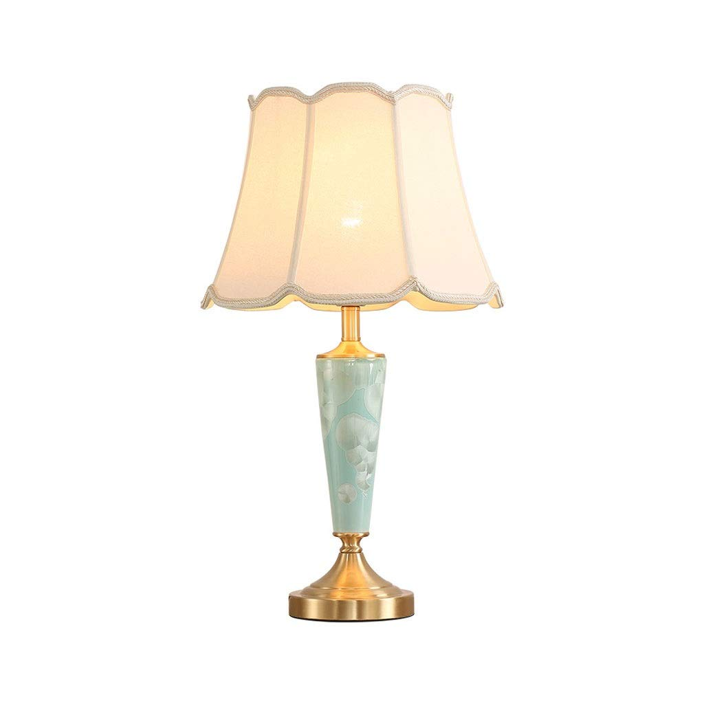 Copper Table lamp American Bedroom Bedside Study Room Living Room Warm Minimalist Counter lamp Corner Several Sets of Lamps