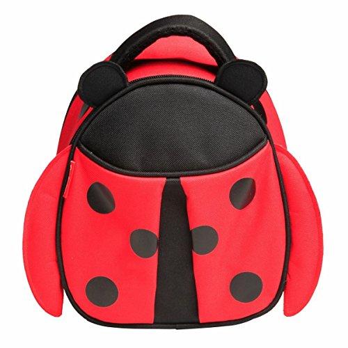 Red Balloon Kids Insulated Lunch Box, Hazel Ladybug