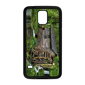 Water Wheel House Hight Quality Case for Samsung Galaxy S5