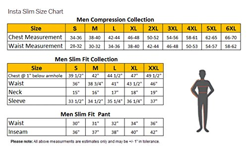 Insta Slim Grey Muscle Tank Men S Compression Slimming Under Shirt Medium