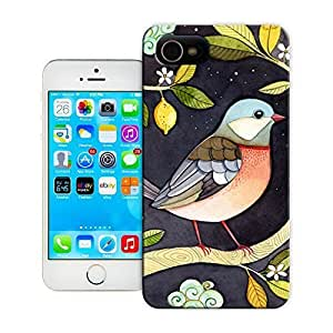 TYH - Unique Phone Case Birds One night in lemon garden Hard Cover for ipod Touch4 cases-buythecase ending phone case