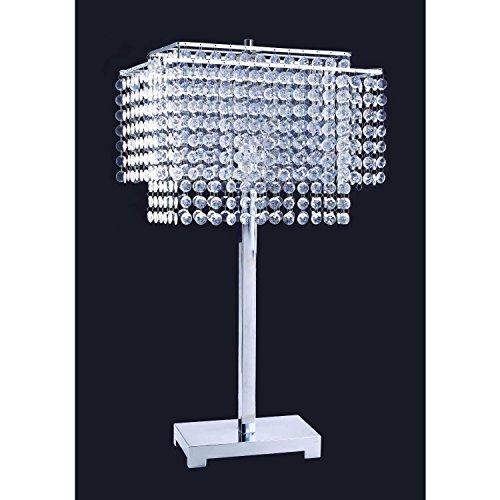 Crystal Strings Table Lamp – SILVER
