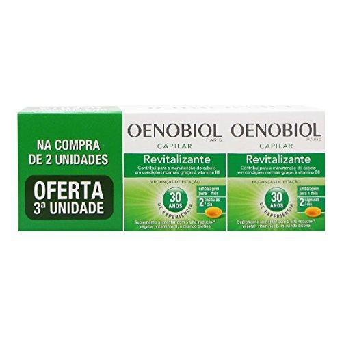 Oenobiol Revitalizante Capilar Pack 3x60caps