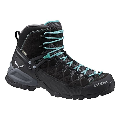 Salewa Dames Alp Trainer Mid Gtx Laarzen Black Out / Agata 7 & Cap Bundel