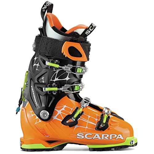 Touring Scarpa Ski Boots (Scarpa Freedom RS Ski Boot - Orange/Black 29)