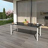 Alu-Sitzgarnitur-Gartenmbel-Set-7-teilig-Garnitur-Sitzgruppe-1-Tisch-190×87-6-Sthle