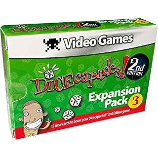 Haywire Group Dicecapades! 2nd Edition Expansion Pack Video Games