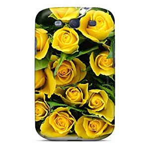 MhtyppG4652PREIj AnnetteL Nature Flowers Yellow Roses Durable Galaxy S3 Tpu Flexible Soft Case