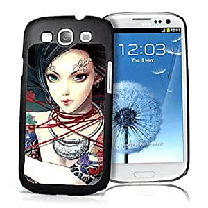 Woman Pattern 3D Effect Case for Samsung S3 I9300