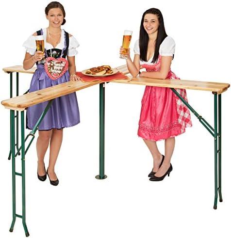 Tipo 2 | No. 401825 Tavolo Alto e Panche Different Models TecTake 800424 Set da Birreria Richiudibile Bar Giardino Birra