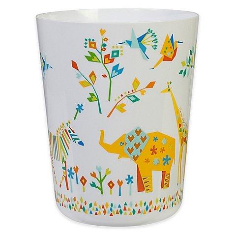 Creative Bath Origami Jungle Wastebasket - Jungle Wastebasket