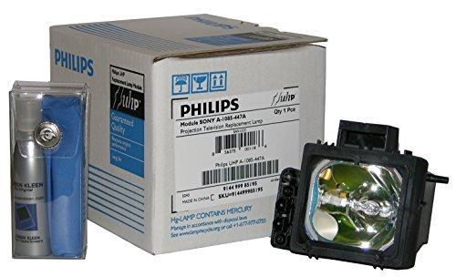 Original Philips Lamp/Bulb/Housing for Sony XL-2200, XL-2200U, A-1085-447-A. This lamp fits Sony models: KDF55WF655, KDF55XS955, KDF60WF655, KDF60XS955, KDFE55A20, KDFE60A20