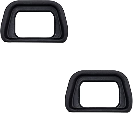 2 Pack VKO Eyepiece//Eyecup//Viewfinder FDA-EP10 Replacement for Sony NEX-6 NEX-7 A6300 ILCE-6300 A6000 ILCE-6000 Digital Cameras /& FDA-EV1S Electronic Eyecup 2019 New Version