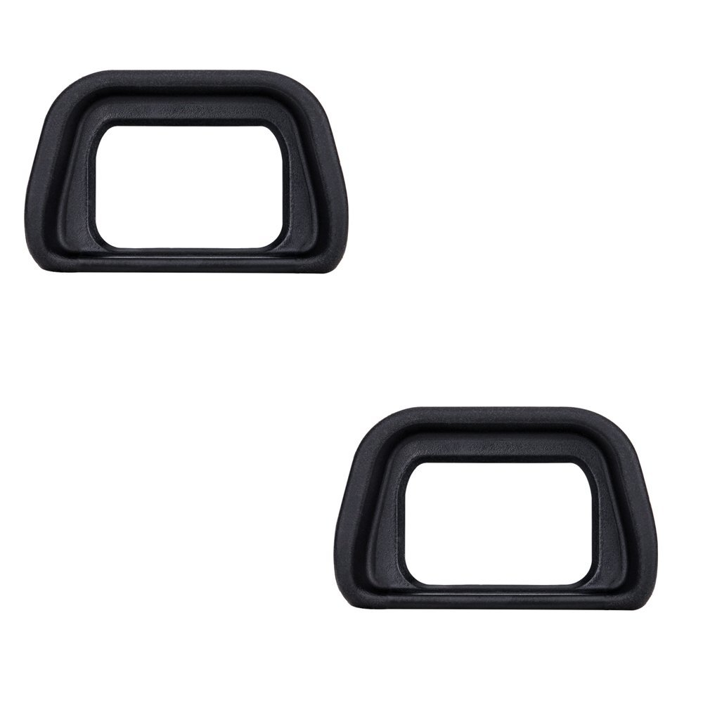 (2-Pack) JJC Eyepiece / Eyecup / Eye Cup Viewfinder for Sony Alpha A6300/A6000/NEX-6/NEX-7 Cameras and FDA-EV2S Electronic viewfinder, Replaces Sony FDA-EP10 Eyepiece