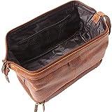 AmeriLeather Toiletry Bag with Bonus Accessories