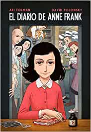 El diario de Anne Frank novela gráfica BESTSELLER-COMIC