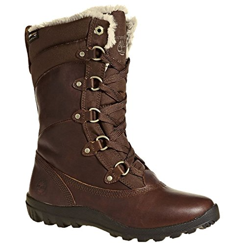 Timberland Women's MT Hope Mid L/F WP Boot,Tobacco,6 W US -