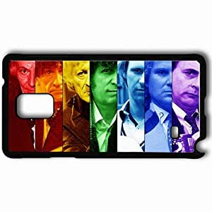Personalized Samsung Note 4 Cell phone Case/Cover Skin Doctor Who Black