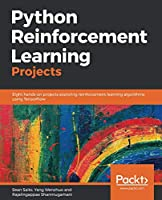 Python Reinforcement Learning Projects Front Cover