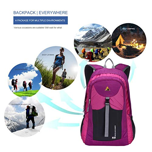 YTYC Ultrathin Waterproof Mountaineering Backpack Portable Bag Outdoor Sports by YTYC (Image #1)
