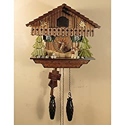 Sternreiter Bird Leave Chalet Cuckoo Clock 1316QM