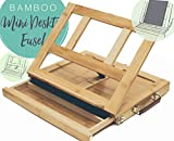 Bamboo Artist Easel for Painting and Drawing - Portable Tabletop Easel with ...