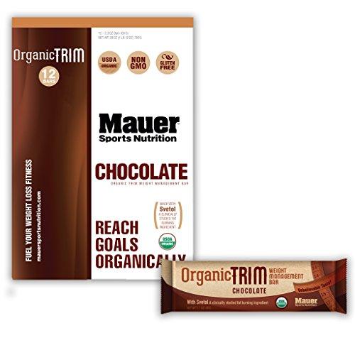 Mauer Sports Nutrition Organic Trim Weight Management Bar