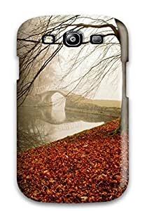 Galaxy S3 Hard Back With Bumper Silicone Gel Tpu Case Cover Landscape