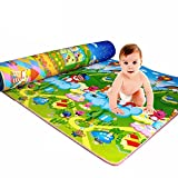 Yinpinxinmao Baby Kids Child Play Mat Foam Crawling Creeping Blanket Floor Pad Activity Rug 120cm x 180cm