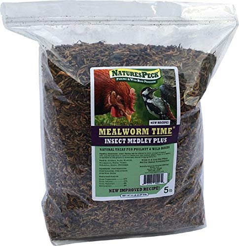 - NaturesPeck Insect Medley Plus (New Recipe) - 5 lbs