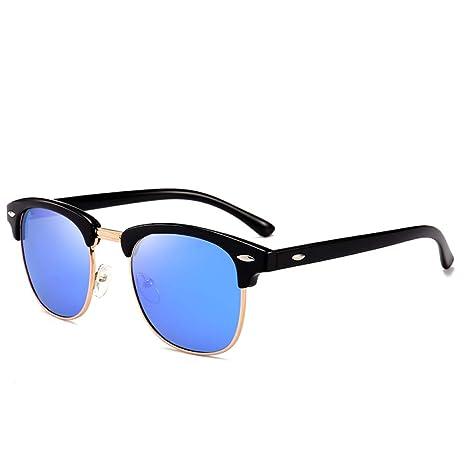 Yangjing-hl Gafas de Sol Retro para Hombres y Mujeres ...
