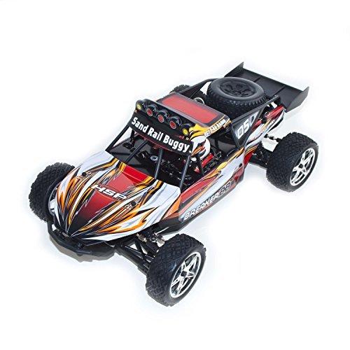 ALEKO RCC94202ORANGE Brushed Version Electric Powered Buggy