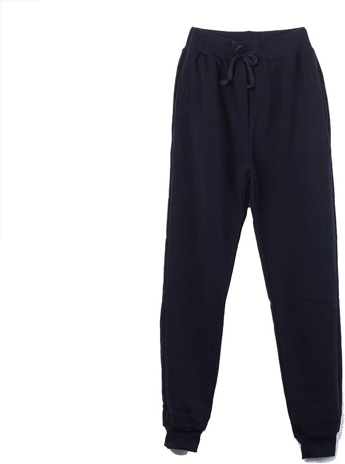 Wide.ling Pantalones Deportivos Casuales para Hombre, elásticos ...