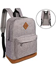 Advocator Vintage Lightweight College School Backpack Casual Travel Carry-on Daypack
