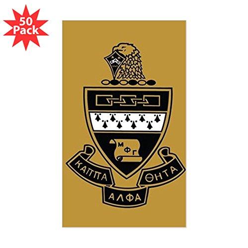 CafePress - Kappa Alpha Theta Crest - Sticker (Rectangle 50 pk)