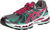 Cheap ASICS Women's GEL-Nimbus 15 Running Shoe,Titanium/Hot Pink/Mint,11 M US