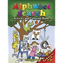 Alphabet Search: Activity and Coloring Book (Dover Children's Activity Books)