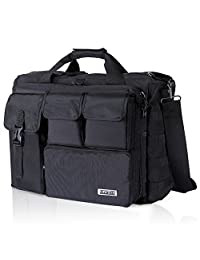 "Lifewit 17.3"" Military Laptop Bag Men's Messenger Bag Tactical Briefcase Computer Shoulder Handbags"