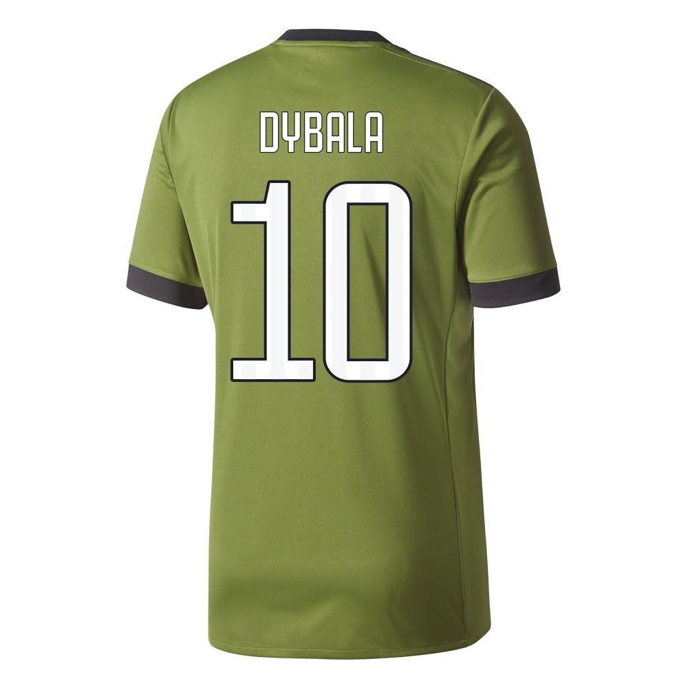 Juventus 3rd Dybala Jersey 2017 / 2018 (ファンスタイル印刷) B074KGHXT2XX-Large