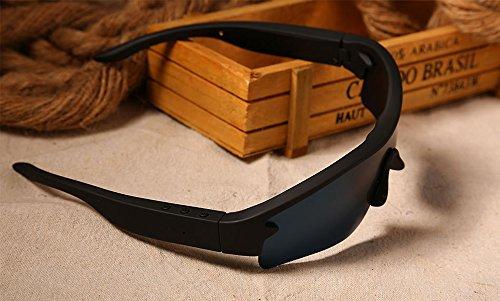 BOND MP3 Bluetooth Glasses Wireless Headphone With Microphone Fashion Sunglasses Earphone Music For Smartphone With Three Lens - Sunglasses With Earbuds
