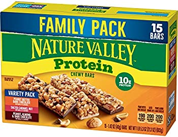 Nature Valley Peanut Butter Dark Chocolate Almond & Protein Chewy Bars