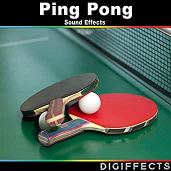 Table Tennis or Ping Pong Hard Hit Version 2 by Digiffects