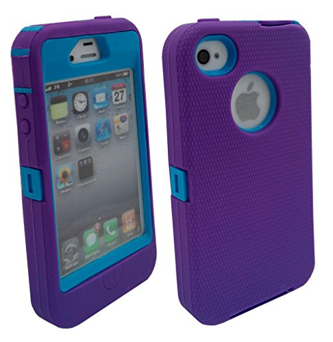 iphone 4 protective case blue - 9