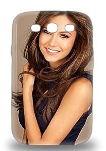 Galaxy Hard 3D PC Case Cover For Galaxy S3 Nina Dobrev Canadian Female The Vampire Diaries ( Custom Picture iPhone 6, iPhone 6 PLUS, iPhone 5, iPhone 5S, iPhone 5C, iPhone 4, iPhone 4S,Galaxy S6,Galaxy S5,Galaxy S4,Galaxy S3,Note 3,iPad Mini-Mini 2,iPad Air )